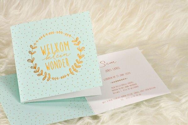 geboortekaartje-welkom-klein-wonder-mintgroen-buromac-586037-TA586-037-15-1
