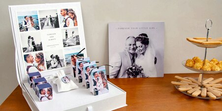 Presentatiebox trouwbedankjes
